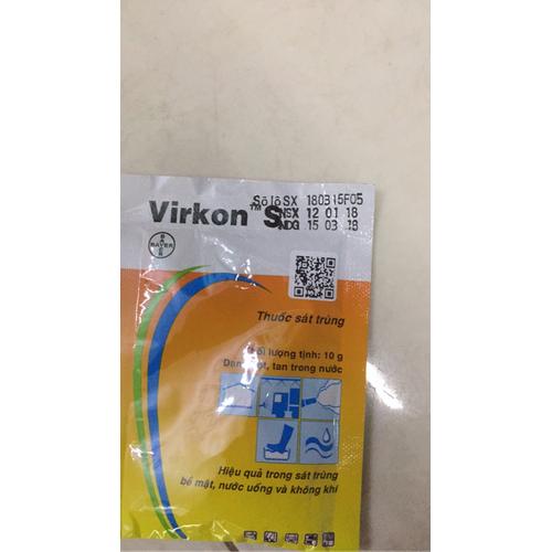 thuốc sát trùng chuồng trại virkon s 100g - 10712435 , 10837867 , 15_10837867 , 85000 , thuoc-sat-trung-chuong-trai-virkon-s-100g-15_10837867 , sendo.vn , thuốc sát trùng chuồng trại virkon s 100g