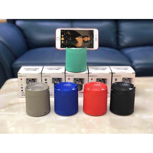 Loa bluetooth kiêm giá đỡ điện thoại XQ3