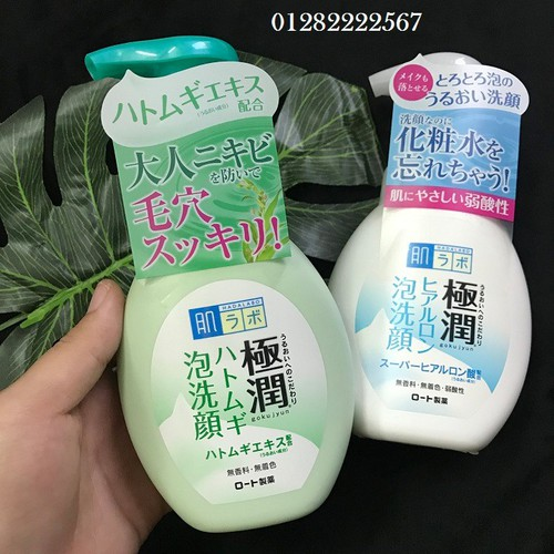 Sữa rửa mặt tạo bọt Hadalabo Gokujyun Foaming cleanser - 10713708 , 10844773 , 15_10844773 , 220000 , Sua-rua-mat-tao-bot-Hadalabo-Gokujyun-Foaming-cleanser-15_10844773 , sendo.vn , Sữa rửa mặt tạo bọt Hadalabo Gokujyun Foaming cleanser