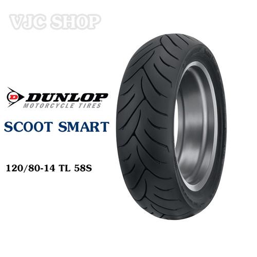 Lốp vỏ xe máy Dunlop SCOOTSMART 120.80-14 58S - 10715666 , 10853491 , 15_10853491 , 982000 , Lop-vo-xe-may-Dunlop-SCOOTSMART-120.80-14-58S-15_10853491 , sendo.vn , Lốp vỏ xe máy Dunlop SCOOTSMART 120.80-14 58S