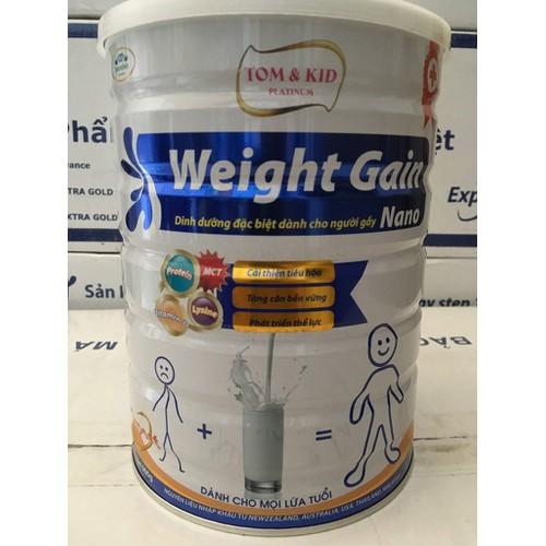 Sữa tăng cân cho người gầy Weight Gain Nano mới - An toàn và hiệu quả - 10422546 , 10845832 , 15_10845832 , 425000 , Sua-tang-can-cho-nguoi-gay-Weight-Gain-Nano-moi-An-toan-va-hieu-qua-15_10845832 , sendo.vn , Sữa tăng cân cho người gầy Weight Gain Nano mới - An toàn và hiệu quả