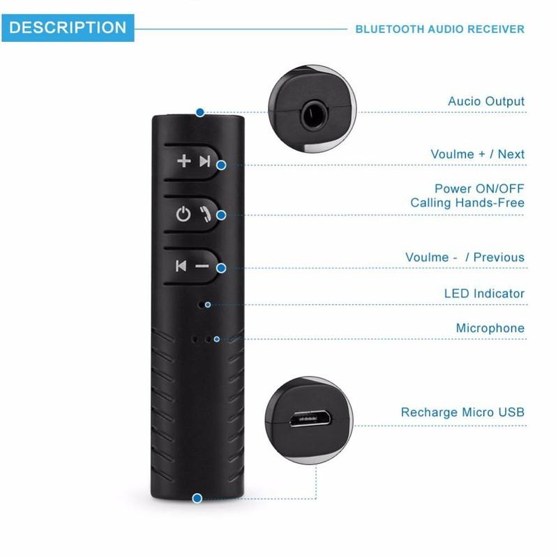 Car Bluetooh chuyển đổi tai nghe thường thành tai nghe Bluetooth 2