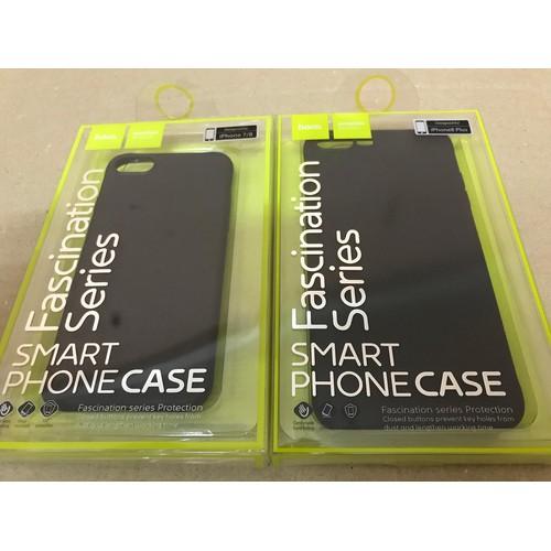 Ốp lưng silicon đen hoco iphone 7 plus iphone 8 plus