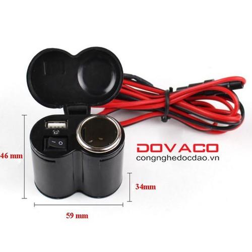 Bộ chế sạc điện thoại trên xe máy V6 - 10422650 , 10846107 , 15_10846107 , 262000 , Bo-che-sac-dien-thoai-tren-xe-may-V6-15_10846107 , sendo.vn , Bộ chế sạc điện thoại trên xe máy V6