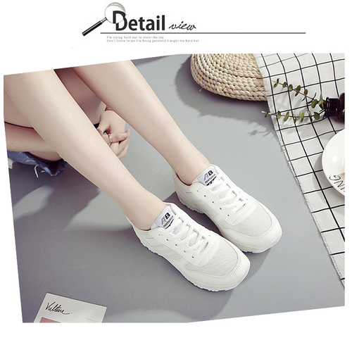 Giày Nữ Sneaker Thời Trang SODOHA Y3-659W Màu Trắng