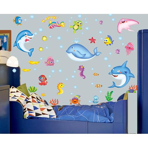 Decal dán tường cá voi nhỏ - 10715822 , 10854153 , 15_10854153 , 45000 , Decal-dan-tuong-ca-voi-nho-15_10854153 , sendo.vn , Decal dán tường cá voi nhỏ
