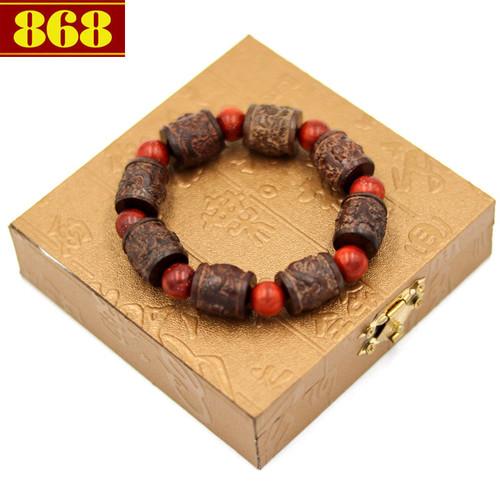 Vòng chuỗi trụ rồng gỗ đàn hương TRNT12 kèm hộp gỗ - 5086263 , 10905582 , 15_10905582 , 170000 , Vong-chuoi-tru-rong-go-dan-huong-TRNT12-kem-hop-go-15_10905582 , sendo.vn , Vòng chuỗi trụ rồng gỗ đàn hương TRNT12 kèm hộp gỗ