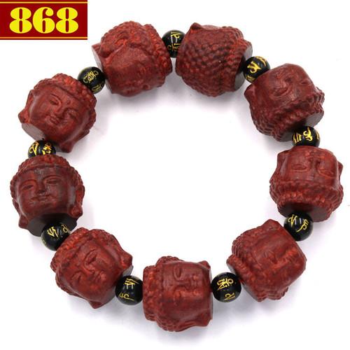 Chuỗi tay Phật Như lai gỗ trắc đỏ NLDCT39