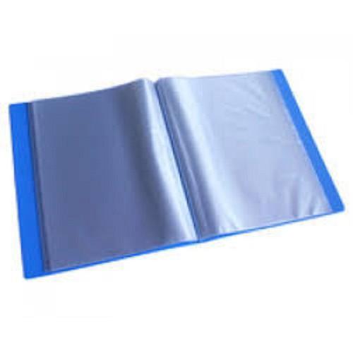 Bìa nhựa 20 lá DOUBLE A màu xanh, file 20 lá