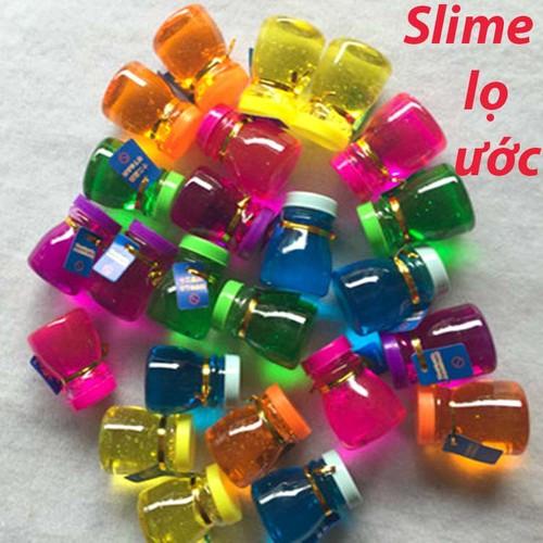 Slime lọ ước màu sắc.chất nhờn ma quái