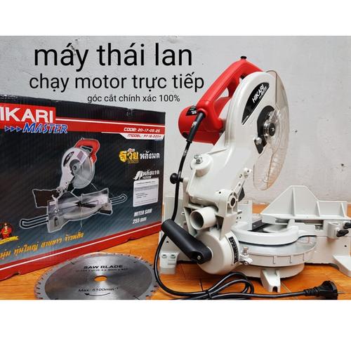 máy cắt nhôm đa góc cạnh dùng motor trực tiếp HIKARI.Thái Lan 1650W