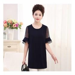 áo trung niên tay loe cao cấp (thời trang Lolita xinh)  LL07