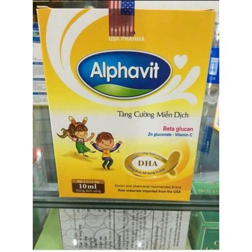 Alphavit tăng cường miễn dịch