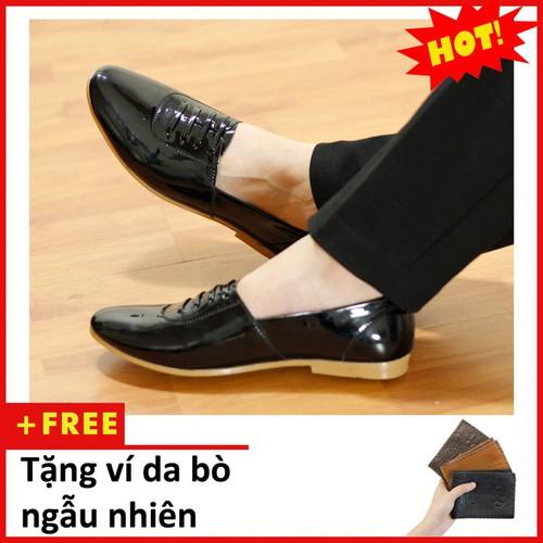 Giày lười nam | Giày lười nam da bóng| M97-V