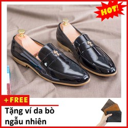 Giày lười nam - Giày lười nam dấu thập | M95