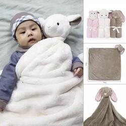 Mền hình con thú cho bé ,mềm xốp , mịn,bằng lông cừu 76*76 cm