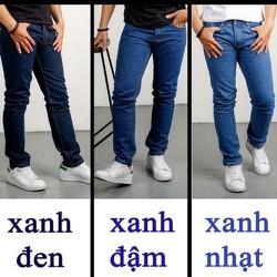 Quần jeans ống suông trung niên vãi đẹp cực chất SIZE 28 ĐẾN 36 TMD01