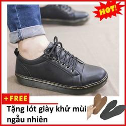 Giày boot nam - Giày boot nam cổ thấp 2018 | M90