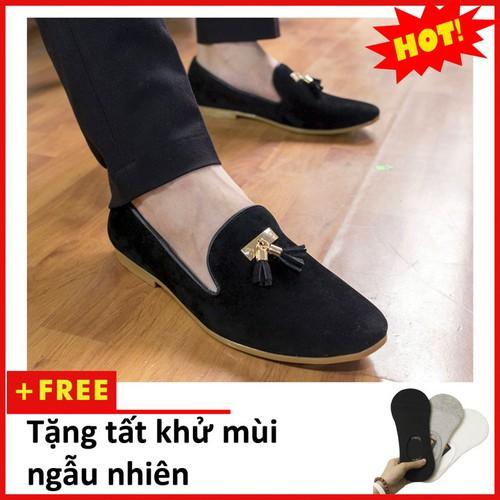 Giày lười nam | Giày lười nam hot M124-T-BUCK
