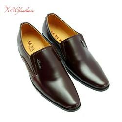 Giày tây nam giày tây nam nâu và đen