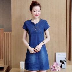 Đầm Jean Thời Trang  chuyên sỉ lẻ TS244