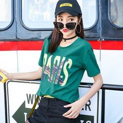 Áo thun nữ năng động cá tính thời trang Hàn Quốc