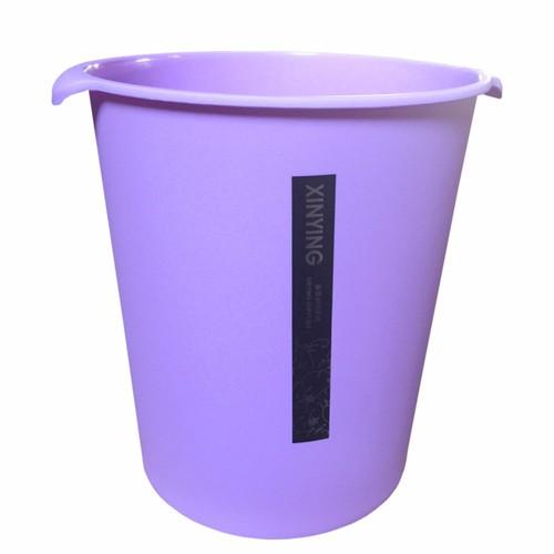 Thùng rác nhựa văn phòng  miệng tròn không Tím TI669 - 4268699 , 10453426 , 15_10453426 , 107900 , Thung-rac-nhua-van-phong-mieng-tron-khong-Tim-TI669-15_10453426 , sendo.vn , Thùng rác nhựa văn phòng  miệng tròn không Tím TI669