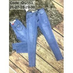 Quần jeans was rách