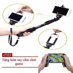 Gậy tự sướng yunteng 1288 Tặng kèm tay cầm chơi game gắn điện thoại