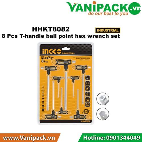 Bộ 8 cái lục giác bi tay cầm chữ T INGCO HHKT8082 - 4269406 , 10454150 , 15_10454150 , 280280 , Bo-8-cai-luc-giac-bi-tay-cam-chu-T-INGCO-HHKT8082-15_10454150 , sendo.vn , Bộ 8 cái lục giác bi tay cầm chữ T INGCO HHKT8082