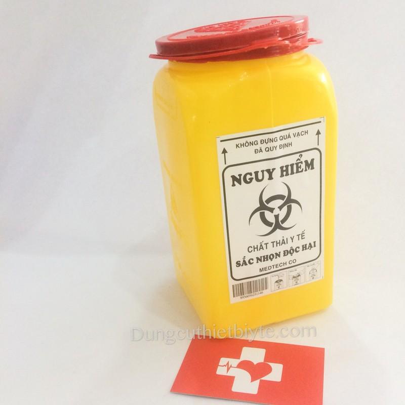 Bình huỷ bơm-kim tiêm | Loại nhỏ 1.5L 2