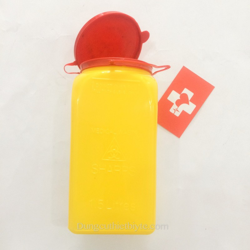 Bình huỷ bơm-kim tiêm | Loại nhỏ 1.5L 3