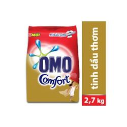 Bột giặt OMO Comfort Tinh dầu thơm tinh tế 2,7kg