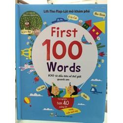 Sách - Lật Mở Khám Phá First 100 Word