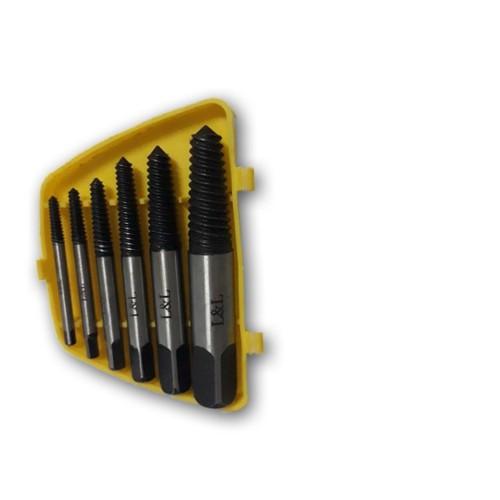 Bộ 6 mũi tháo ốc vít gẫy - LL13264