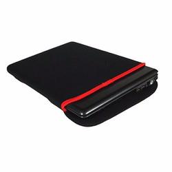 Túi chống sốc laptop và máy tính bảng 7 inch viền đỏ đen