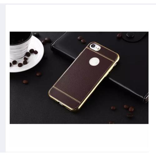 Ốp lưng dẻo mạ phủ vải giả da cho iphone 7Plus, 8Plus - 4271082 , 10455917 , 15_10455917 , 99000 , Op-lung-deo-ma-phu-vai-gia-da-cho-iphone-7Plus-8Plus-15_10455917 , sendo.vn , Ốp lưng dẻo mạ phủ vải giả da cho iphone 7Plus, 8Plus
