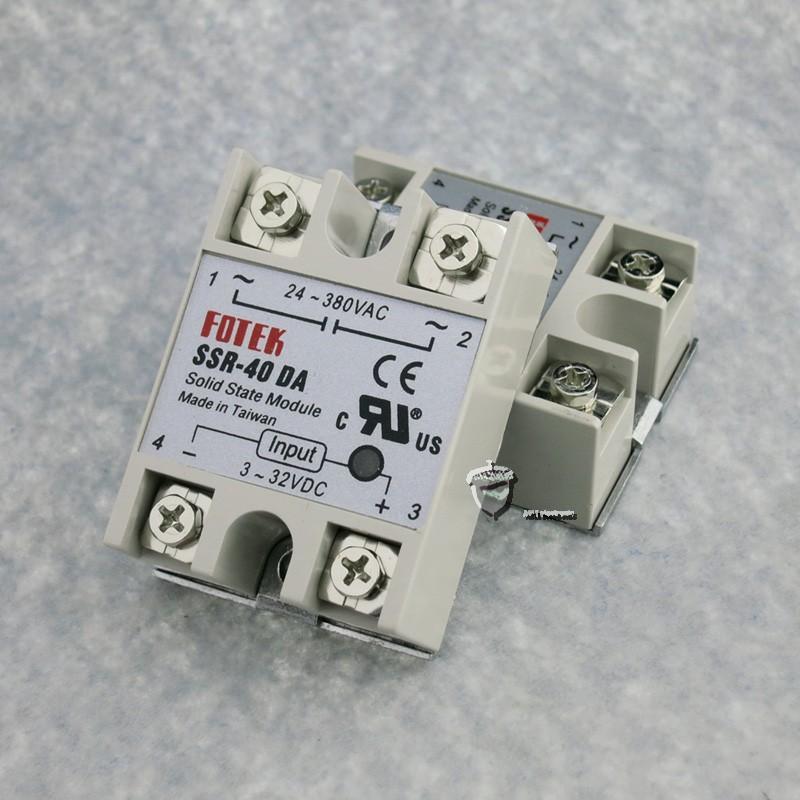 Relay bán dẫn SSR-40 DA - 40A 1