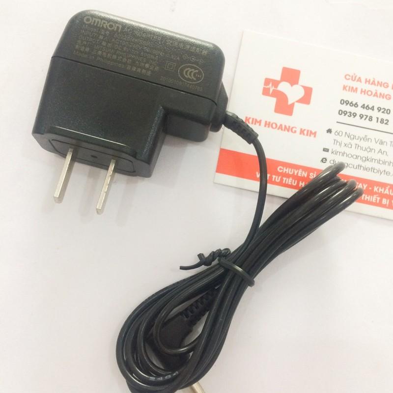Sạc đổi nguồn máy đo huyết áp Omron | Adapter Omron 1