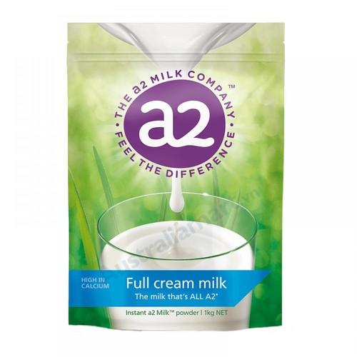 Sữa tươi A2 dạng bột nguyên kem - hàng nhập Úc