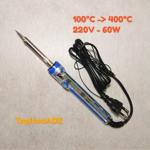 Mỏ hàn thiếc Souer 60W điều chỉnh nhiệt độ