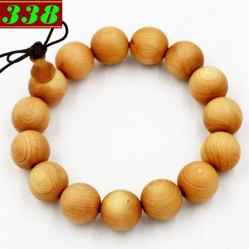 Hạt chuỗi tay gỗ Hoàng đàn 15 ly