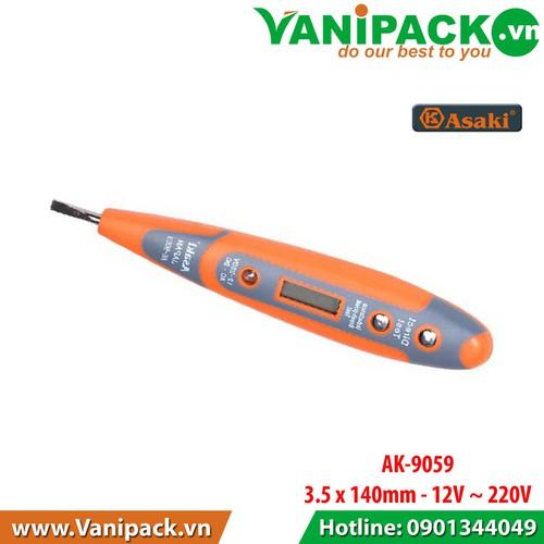 Bút thử điện đa năng cao cấp 220V Asaki AK-9059