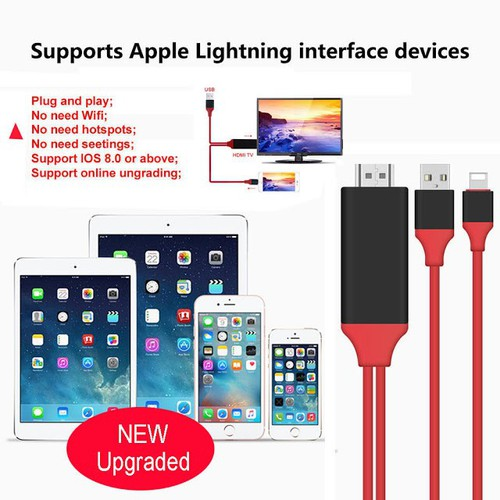 Cáp HDMI cho điện thoại kết nối lên TV hệ điều hành IOS
