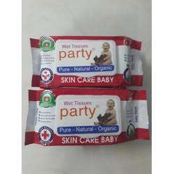 combo 20 bịch khăn giấy ướt Party 80g