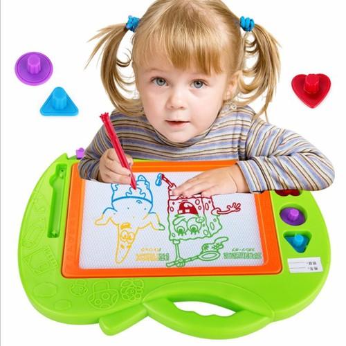 Bảng vẽ thông minh từ tính nét vẽ nhiều màu độc đáo sáng tạo cho bé