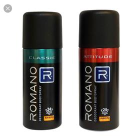 Xịt khử mùi toàn thân Romano Attitude 150 mL date 2023 - XKM120-1