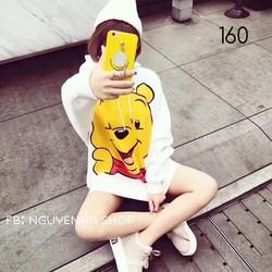 áo hoodie nữ in gấu