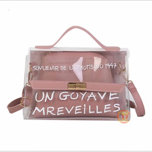 TÚI TRONG SUỐT ON GOYAVE MREVEILLES TDS 1014