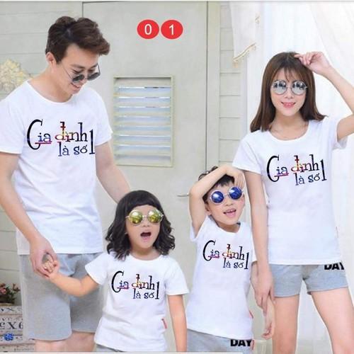 Sét áo gia đình chất đẹp